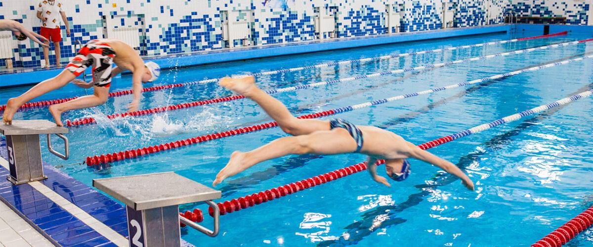 Высокие результаты в плавании